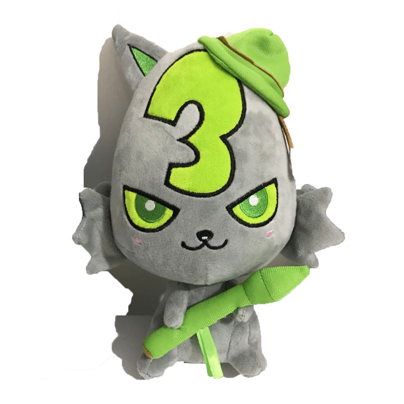 plush number character