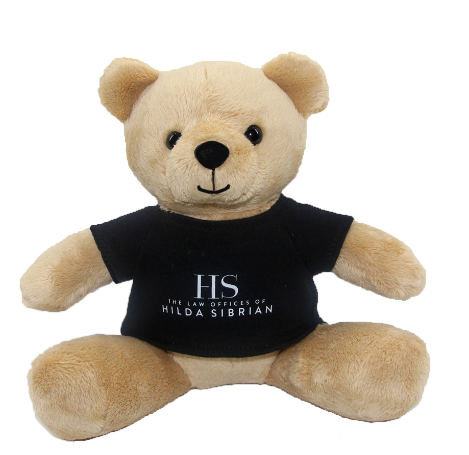Customized teddy bear with LOGO