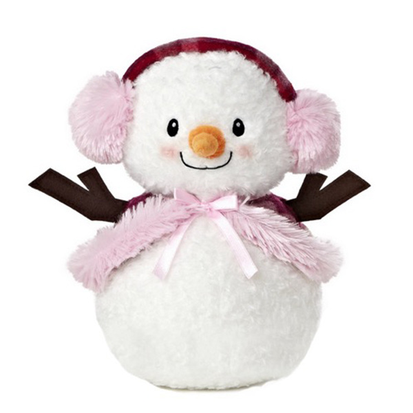 Christmas snowman plush toy