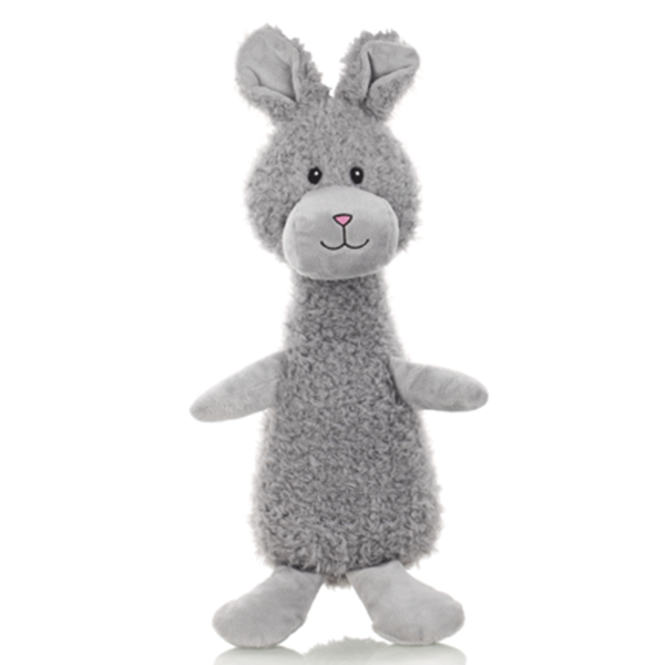 Plush dog toys with squeakers inside