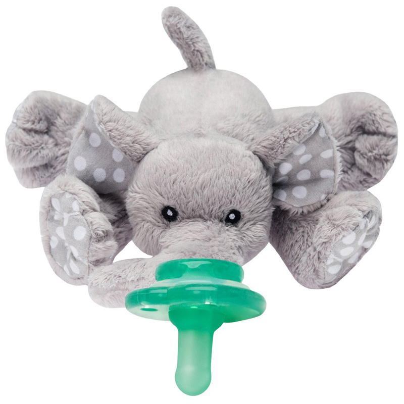 Paci-Plushies Pacifier Holder Elephant