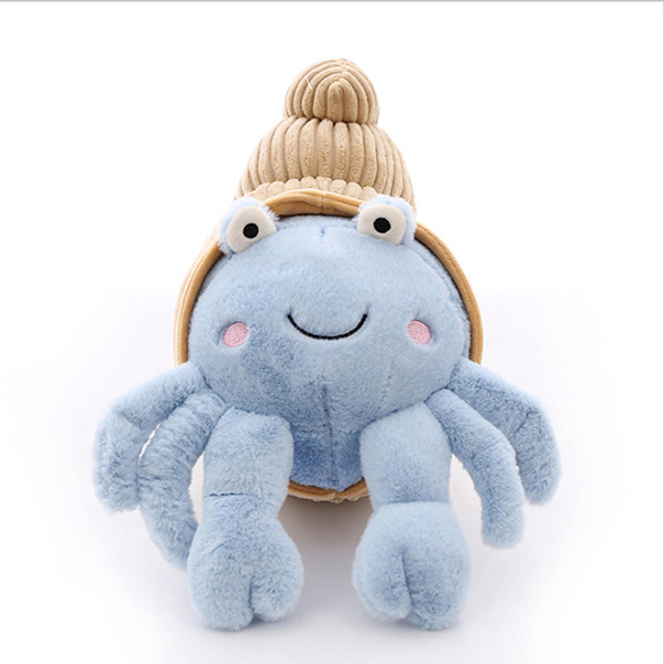 Plush hermit crab toy kids toy