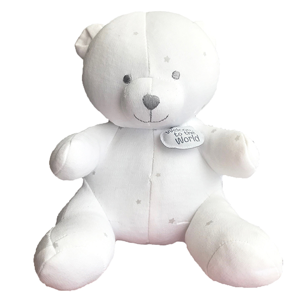 100% cotton teddy bear for baby