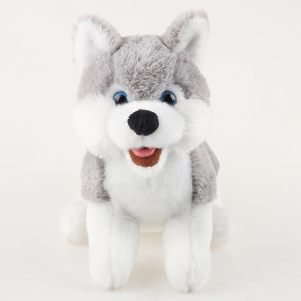 Plush dog Husky