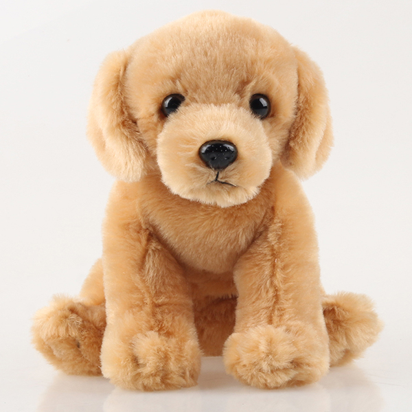Plush dogs sitting position